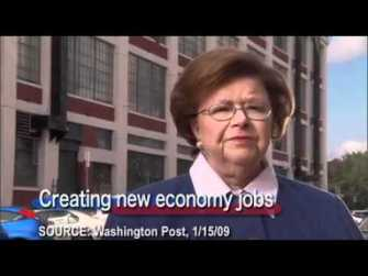 Barbara Mikulski highlights her own failure