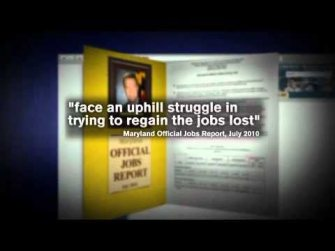 Ehrlich Ad on O'Malley Jobs Cover Up