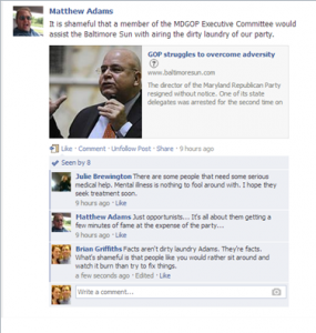 Does Charles Lollar endorse the Gutter Politics of his Staff?