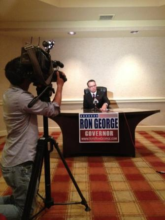 Impressions from the George for Governor Campaign