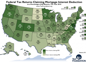 Maryland #1 in Mortgage Interest Deduction Claims