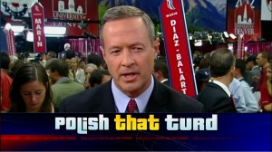 O'Malley Polishes the Turd