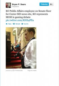 Is KO Public Affairs a Media Outlet or is Center Maryland a Lobbying Shop?