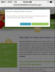 Maryland's Obamacare Exchange Roll Out Working Like a Spinal Tap Concert