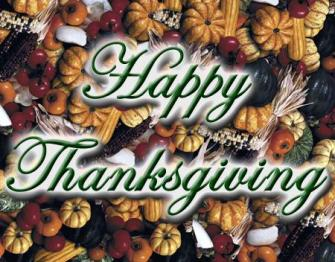 To Red Maryland Readers: Happy Thanksgiving