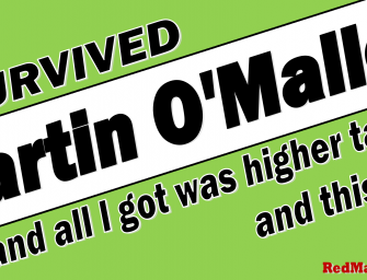 "Get Your ""I Survived Martin O'Malley"" T-shirt"