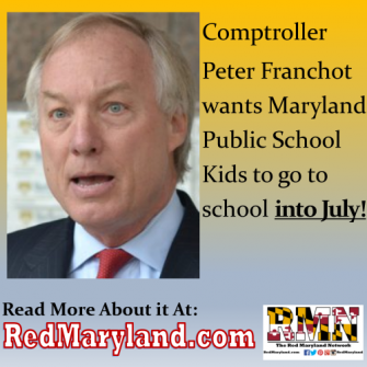 Peter Franchot Wants to Send Kids to School in July