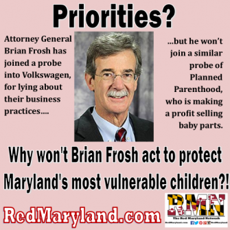 An Open Letter to Brian Frosh