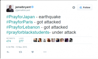 Democratic Pastor Jamal Bryant Politicizes Paris Terror Attacks