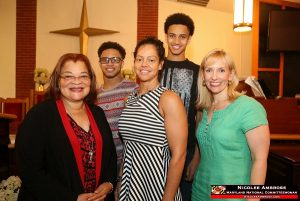 Maryland Republican National Committeewoman Nicolee Ambrose with Alveda King, Activist and Niece of Dr. Martin Luther King, and others.