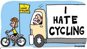 hate cycling