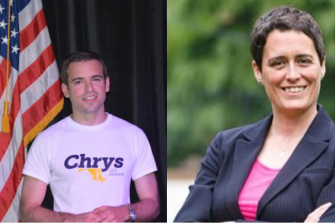 Chrys Kefalas Supported Heather Mizeur, Not Larry Hogan in 2014