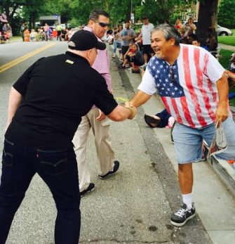 Hogan's Popularity Shows Strongly During Independence Day Visits to Arbutus, Dundalk