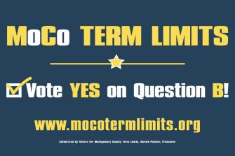 Vote Yes On Question B (Montgomery County)