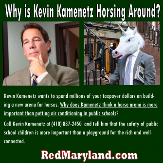 Kevin Kamenetz is Just Horsing Around