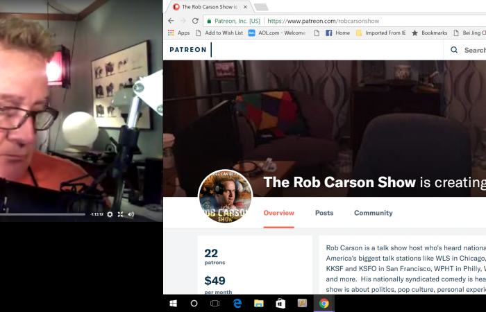 Rob Carson Podcasts # 134 135 136