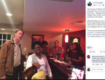 Anne Arundel Democrats Attend Fundraiser Hosted by Disgraced Councilman