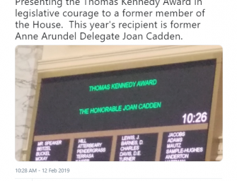 Democrats Honor Disgraced Delegate