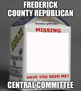Missing Committee Alert Frederick County