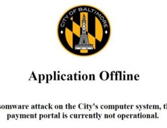 Blowback from NSA Hacking Weapon Cripples Baltimore Computers