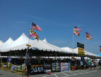 Red Maryland Radio Special Edition from the Tawes Clam Bake