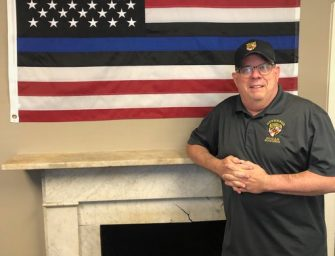 Hogan Calls Out MoCo's Marc Elrich for Ordering 'Thin Blue Line' Flag Removed