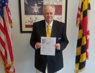 Red Maryland Candidate Survey: Blaine Taylor for Congress, District 2