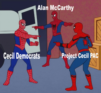 A Tangled Web: Alan McCarthy, Cecil County Democrats and Project Cecil